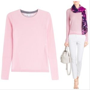 NEW DVF | Cashmere Crew Neck Pink Sweater Sz M